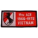 Eagle Emblems PM0312 Patch-Viet, Bdg, Army, 011Th 1966-1972 (4-1/4