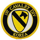 Eagle Emblems PM0335 Patch-Korea, 001St Cav (3