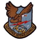 Eagle Emblems PM0371 Patch-Usaf, Aerospc.Def.Cm (Shield) (3