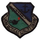 Eagle Emblems PM0373 Patch-Usaf, 143Rd Tact.Air (Subdued) (3