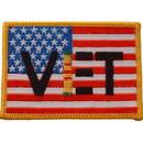 Eagle Emblems PM0387 Patch-Vietnam, Veteran, Usa (3-1/2