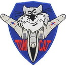 Eagle Emblems PM0397 Patch-Usn, Tomcat (3-3/8