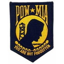 Eagle Emblems PM0404 Patch-Pow*Mia (Gold) (3-1/2