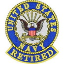 Eagle Emblems PM0421 Patch-Usn Logo, Retired (3