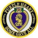 Eagle Emblems PM0486 Patch-Purple Heart