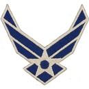 Eagle Emblems PM0517 Patch-Usaf Symbol (03) (3-1/4