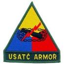Eagle Emblems PM0520 Patch-Army, Armor, Usatc (3-3/4