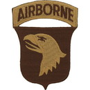 Eagle Emblems PM0535 Patch-Army, 101St A/B Div. (Desert) (3