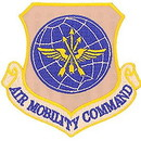 Eagle Emblems PM0551 Patch-Usaf, Air Mobil.Cmd (Shield) (3