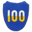 Eagle Emblems PM0555 Patch-Army, 100Th Inf.Div. (3
