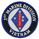 Eagle Emblems PM0565 Patch-Vietnam, Usmc, 1St Dv (3