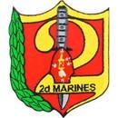 Eagle Emblems PM0569 Patch-Usmc, 02Nd Mar. Rgt. (3-3/8