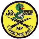 Eagle Emblems PM0585 Patch-Army, Sniper School (3