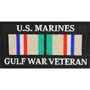 Eagle Emblems PM0589 Patch-Gulf War, Vet, Usmc (Desert) Ribbon (4