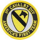 Eagle Emblems PM0600 Patch-Army, 001St Cav.Div. (Desert) (3-1/2