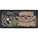Eagle Emblems PM0609 Patch-Usmc, Recon (Desert) (3-1/2
