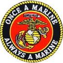 Eagle Emblems PM0615 Patch-Usmc Logo, Once A Marine (3