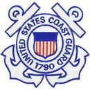 Eagle Emblems PM0623 Patch-Uscg Logo (03) (Anchors) (3