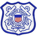 Eagle Emblems PM0627 Patch-Uscg Logo (03) (Shield) (3