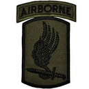 Eagle Emblems PM0711 Patch-Army, 173Rd A/B Bde. (Subdued) W/Tab (3