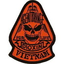 Eagle Emblems PM0720 Patch-Vietnam, Agent Orang (3-1/2