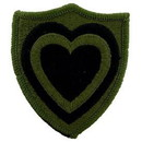 Eagle Emblems PM0728 Patch-Army, 024Th Corps (Subdued) (3