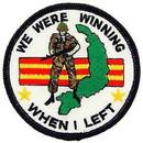 Eagle Emblems PM0744 Patch-Vietnam, We Were Win (3