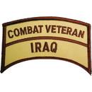 Eagle Emblems PM0745 Patch-Iraqi Freed.Combat Vet.Tab (3