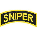 Eagle Emblems PM0803 Patch-Army, Tab, Sniper (4