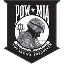 Eagle Emblems PM0866 Patch-Pow*Mia (Desert) (3-1/2
