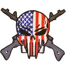 Eagle Emblems PM0883 Patch-Fear The Reaper (Desert) (3