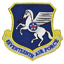 Eagle Emblems PM0917 Patch-Usaf, 017Th, Shld (3