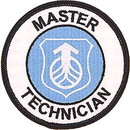 Eagle Emblems PM0928 Patch-Usaf, Systems Cmd. Master Technician (3