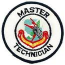 Eagle Emblems PM0946 Patch-Usaf, Sac, Mast.Tech. (3