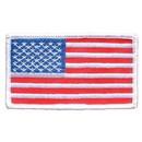 Eagle Emblems PM1113 Patch-Flag Usa, Rect.White (2