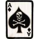 Eagle Emblems PM1128 Patch-Death Ace, Card (3-1/2