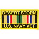 Eagle Emblems PM1144 Patch-Dest.Storm, Usn Svc.Ribbon (4