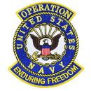 Eagle Emblems PM1172 Patch-Enduring Freed.Usn (3-5/8