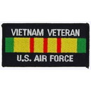 Eagle Emblems PM1209 Patch-Viet, Bdg, Usaf Vet (4