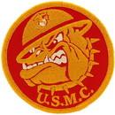 Eagle Emblems PM1215 Patch-Usmc, Bulldog (3