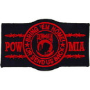 Eagle Emblems PM1218 Patch-Pow*Mia, Bring'Em Hm (Red) (4-1/4