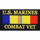 Eagle Emblems PM1296 Patch-Usmc, Combat Veteran (1-3/4