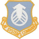 Eagle Emblems PM1330 Patch-Usaf, Systems Cmd. (Shield) (3