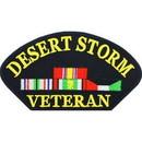 Eagle Emblems PM1348 Patch-Dest.Hat, Veteran (Kuwait) (3