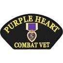 Eagle Emblems PM1350 Patch-Hat, Purple Heart (3