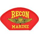 Eagle Emblems PM1353 Patch-Usmc, Hat, Recon, Red (3