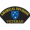 Eagle Emblems PM1365 Patch-Army, Hat, Americal Div.Vet. (3
