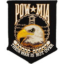 Eagle Emblems PM1366 Patch-Pow*Mia, Their War (4-1/4