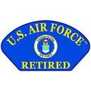 Eagle Emblems PM1375 Patch-Usaf, Hat, Logo, Ret. (3