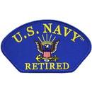 Eagle Emblems PM1378 Patch-Usn, Hat, Logo, Ret. (3